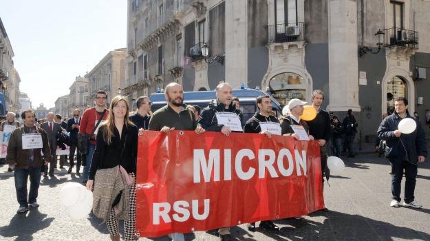 catania, Micron, vertenza, Catania, Economia
