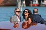 Aspettando le nozze, George Clooney e Amal arrivano a Venezia
