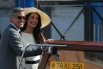 George Clooney e Amal si sono sposati: tutte le immagini da Venezia