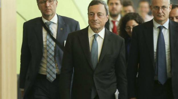 Bce, crisi lavoro, euro, europa, eurozona, Mario Draghi, Sicilia, Economia