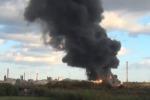 Incendio a Milazzo: il fumo arriva in città