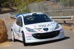 Coppia nella vita e in pista Eros e Viviana vincitori del Rally di Caltanissetta