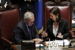 """Fra Grasso e Boldrini scintille sul M5S, il presidente del Senato: """"Non decide lei"""""""