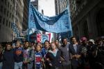 Vertice Onu sul clima, sit in dei verdi a Wall Street