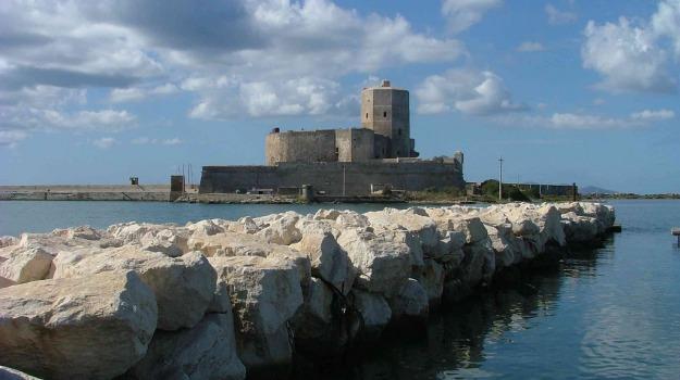 castello, colombaia, trapani, Trapani, Economia