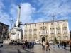 Manutenzione in viale Lainò a Catania, sistemati verde e segnaletica