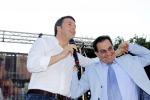 "Renzi a Crocetta: ""O governa o vada a casa"""