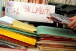 Imprese, meno fallimenti nei primi sei mesi dell'anno
