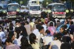 Manifestazioni a Hong Kong, rilasciato il leader degli studenti