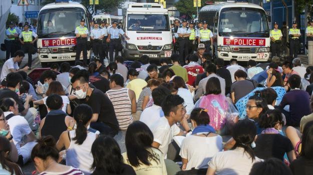 Hong Kong, proteste, studenti, Sicilia, Mondo