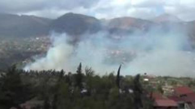 incendio, madonie, Manuele Martorana, Sicilia, Palermo, Cronaca