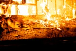 Incendio a Trapani, fiamme minacciano il poliambulatorio dell'Asp