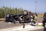 Incidente mortale sulla Palermo-Catania: le immagini
