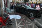 Auto piomba in un bar del Salernitano: morte 4 persone, il guidatore accusato di omicidio volontario