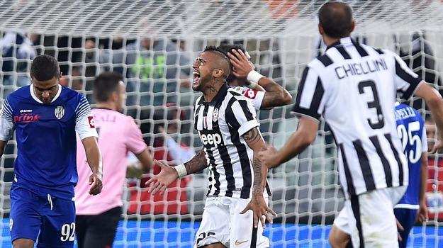 Calcio, cesena, Juventus, roma, SERIE A, Arturo Vidal, Sicilia, Sport