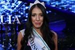 «Miss Italia» ha ringraziato i suoi concittadini