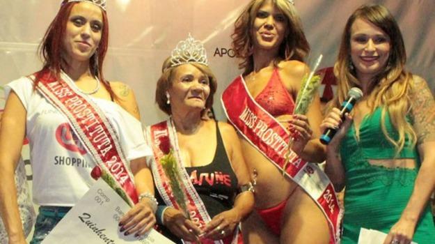 Brasile, concorso, Miss, prostituta, Sicilia, Società