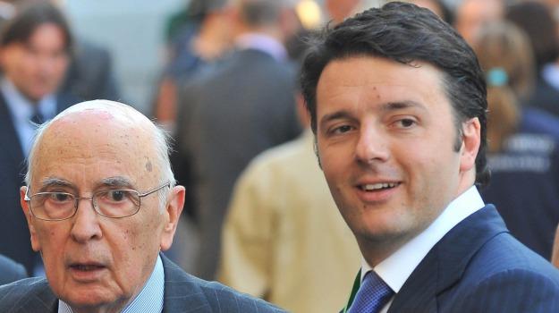 Parlamento europeo, Quirinale, semestre europeo, Giorgio Napolitano, Matteo Renzi, Sicilia, Politica