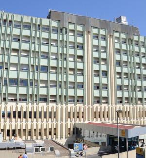 L'ospedale Cannizzaro di Caatania