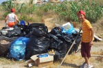 Isola delle Femmine, pulizia del litorale per sensibilizzare i candidati alle elezioni