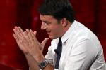 """Tfr, Renzi: """"Sono soldi dei lavoratori e vorrei che andassero nelle buste paga"""""""