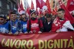 Roma, Cgil in piazza contro il Jobs Act