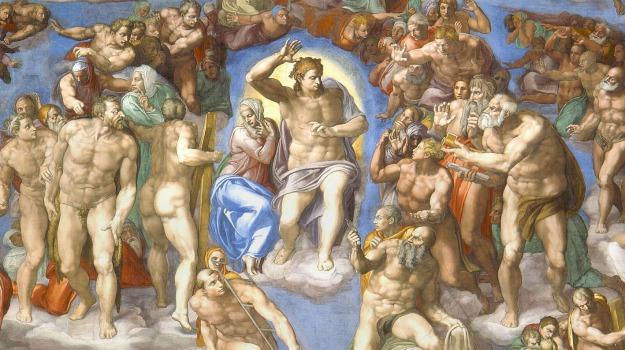 affreschi, arte, luci, museo, Sicilia, Cultura