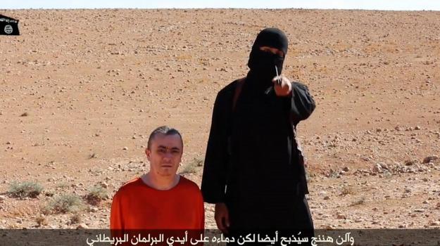decapitazione, Isis, Siria, terrorismo, Alan Henning, Sicilia, Mondo