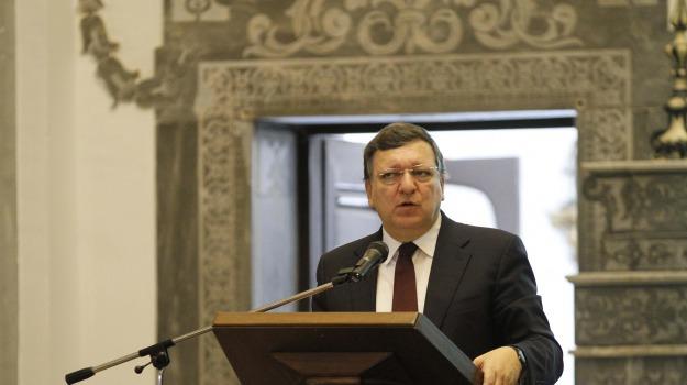 Crisi, italia, ue, unione europea, Josè Barroso, Sicilia, Economia