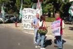 Lavoratori in piazza a Palermo: il video
