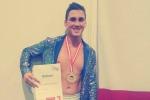 Alcamo, a soli 15 anni diventa campione del mondo di danza sportiva