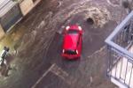 Palermo messa in ginocchio dal maltempo: crolli e danni in via Cappuccini