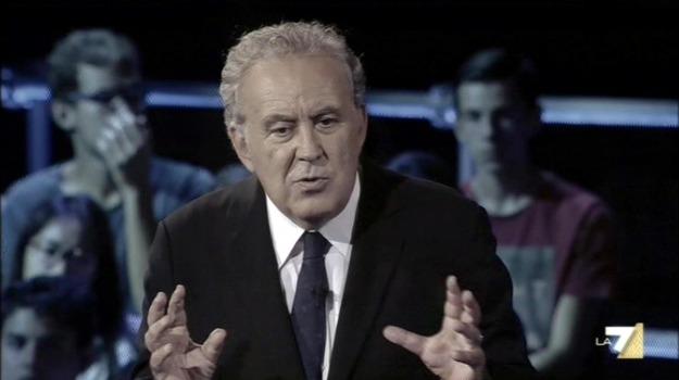 programma, talk show, televisione, trasmissione, Michele Santoro, Sicilia, Società