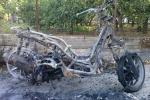 Incendiata la moto di un sindacalista: indagini a Palermo