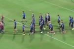 La Nazionale a Palermo, il video dell'allenamento allo stadio Barbera