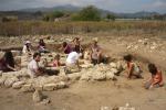 Scoperta necropoli romana a Calatabiano: le immagini
