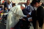 Giovane disabile palermitano incontra il Papa