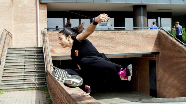 attività fisica, movimento, palestra, parkour, Palermo, Società