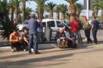 Lavoratori trasferiti, protesta alla Raffineria di Gela