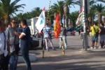 Nuova protesta dei lavoratori alla Raffineria di Gela. Il video