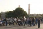 Gela, sit-in dei lavoratori alla Raffineria