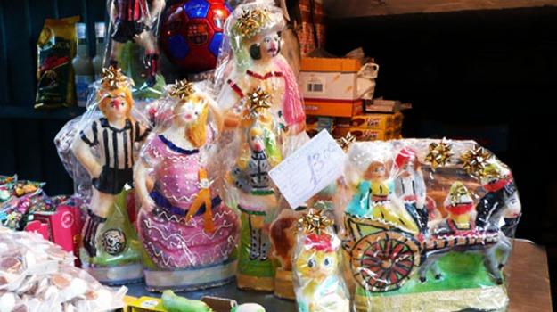 dolci, festa, pupi, tradizione, zucchero, Caterina dei Medici, Enrico III, Palermo, Società