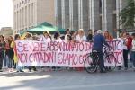 Sit-in a Palermo: così sosteniamo Scarpinato dopo le intimidazioni. Le foto