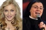 """Suor Cristina canta """"Like virgin"""", anche Madonna ne parla: """"Noi, sorelle per la vita"""". Le foto"""