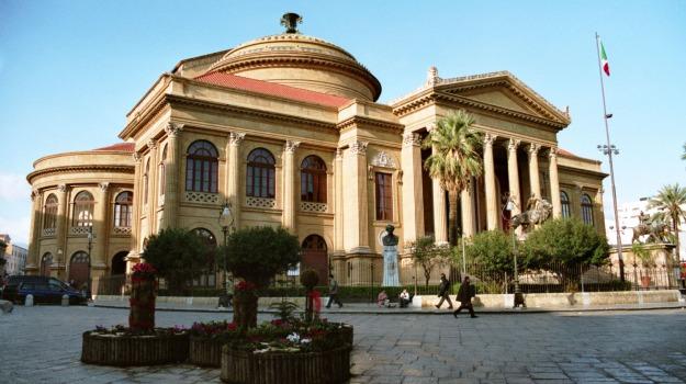 Palermo, sindacati, teatro massimo, Palermo, Economia