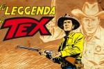 """""""La leggenda di Tex"""", in 200 tavole il ranger eroe del fumetto"""