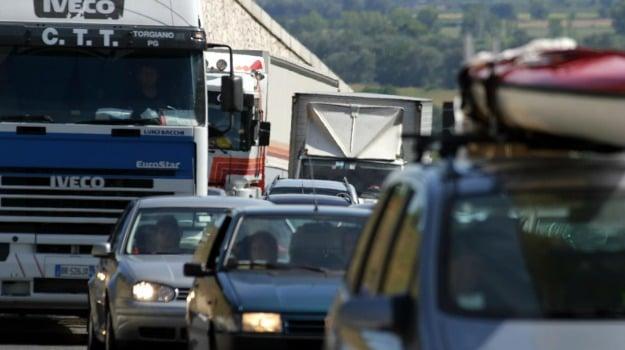 incidente, sciopero, TRAFFICO, vigili, Palermo, Cronaca