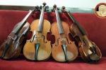 Palermo, i violini ritrovati del Conservatorio Bellini: tutte le foto