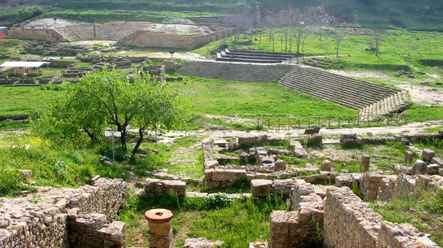marines, Morgantina, parco archeologico, Sicilia, Enna, Cultura