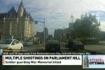 Ottawa, spari al Parlamento: il video del presunto assalitore